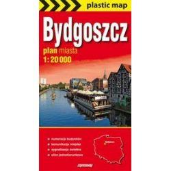 Bydgoszcz mapa foliowana 1:20 000