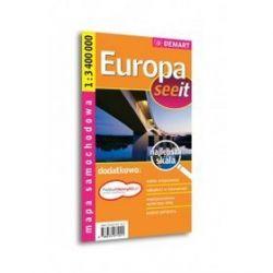 Europa - mapa samochodowa