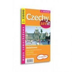 Czechy - mapa samochodowa