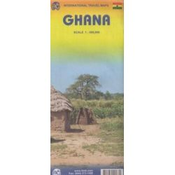 Ghana mapa 1:500 000 ITMB