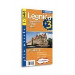 Legnica - plan miasta