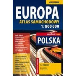 Europa.Atlas samochodowy + mapa