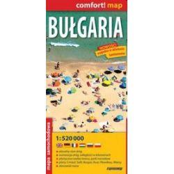 Bułgaria 1:520 000 - laminowana mapa samochodowa