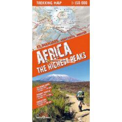 Africa The Highest Peaks - trekking map 1:150 000