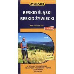 Beskid Śląski, Beskid Żywiecki. Mapa turystyczna w skali 1:50 000