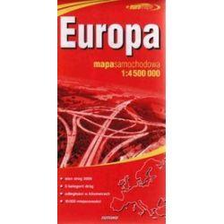 Europa mapa 1:4 500 000