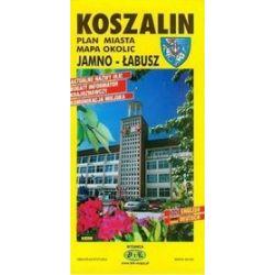 Koszalin-plan miasta