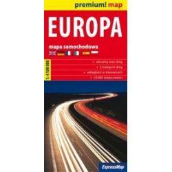 Europa 1:4 500 000 - mapa samochodowa