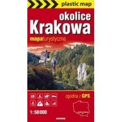 Kraków okolice mapa foliowana 1:50 000