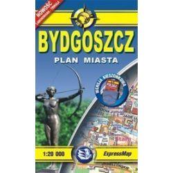 Bydgoszcz - kieszonkowy laminowany plan miasta w skali 1: 20 000