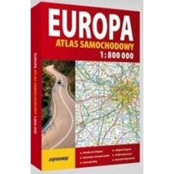 Europa.Atlas samochodowy (bez mapy)