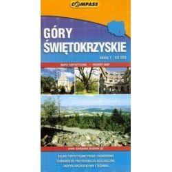 Góry Świętokrzyskie - mapa turystyczna