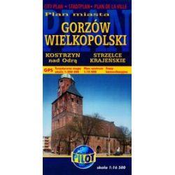 Gorzów Wielkopolski. Plan miasta w skali 1:16 500