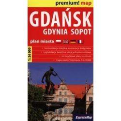 Gdańsk Gdynia Sopot plan miasta 1:26 000