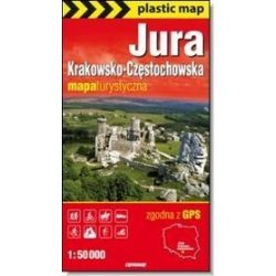 Jura Krakowsko-Częstochowska mapa 1:50 000