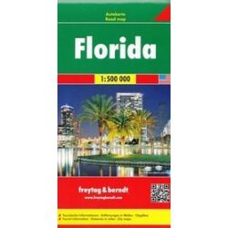 Floryda mapa 1:500 000 Freytag & Berndt