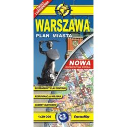 Warszawa plan miasta