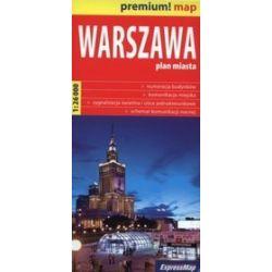 Warszawa mapa 1:26 000