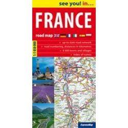 France - mapa samochodowa 1:1 050 000
