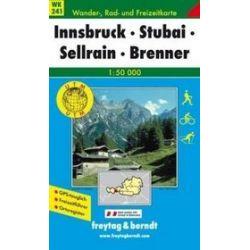 Innsbruck Stubai mapa 1:50 000 Freytag & Berndt