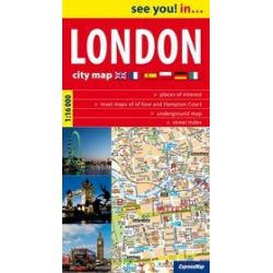 Londyn - plan miasta 1:16 000