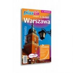 Warszawa - mapa plastik