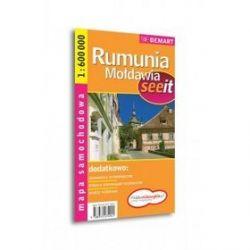 Rumunia, Mołdawia mapa samochodowa