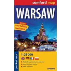 Warsaw - pocket map 1:26 000