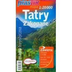 Tatry Zakopane - mapa turystyczna