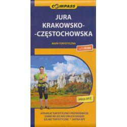 Jura Krakowsko-Częstochowska. Mapa w skali 1:50 000
