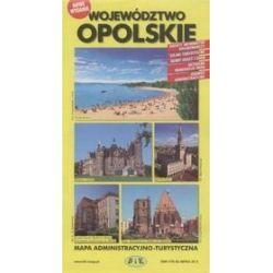 Województwo opolskie - mapa administracyjno-turystyczna