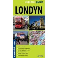 Londyn - 2 w 1 przewodnik + atlas