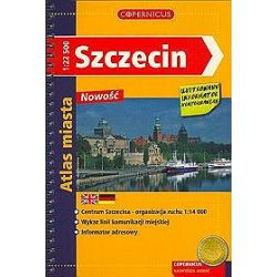 Szczecin - Atlas miasta 1:22 500