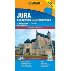 Jura Krakowsko Częstochowska 2 mapy + Przewodnik turystyczny