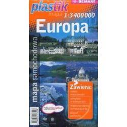 Europa. Mapa samochodowa Plastik w skali 1:3 400000