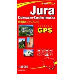 Jura Krakowsko-Częstochowska 1:50 000 mapa turystyczna