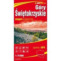 Góry Świętokrzyskie - mapa turystyczna w skali 1:75 000