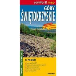 Góry Świętokrzyskie - mapa turystyczna w skali 1: 75 000