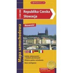 Republika Czeska, Słowacja - mapa samochodowa