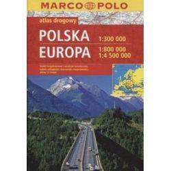 Polska. Europa. Atlas drogowy Marco Polo