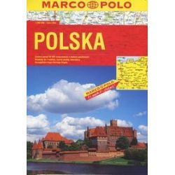 Polska. Atlas drogowy Marco Polo
