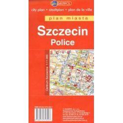 Szczecin. Plan miasta w skali 1:25 000