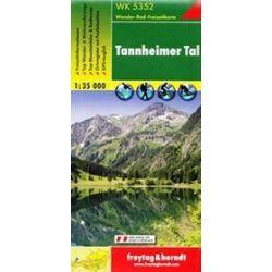 Tannheimer Tal mapa 1:35 000