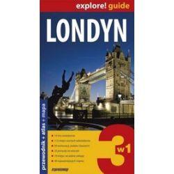 Londyn 3w1. Przewodnik+atlas+mapa