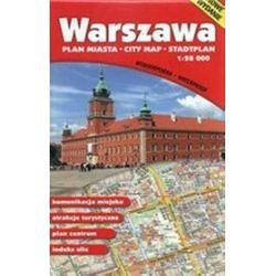 Warszawa - plan miasta, mapa Wodoodporna