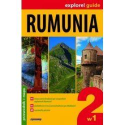 Rumunia 2w1. Przewodnik z mapą