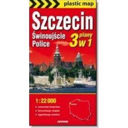 Szczecin Police Świnoujście mapa foliowana 1:22 000