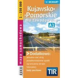 Mapa - Kujawsko - Pomorskie dla zawodowców 1: 250 000