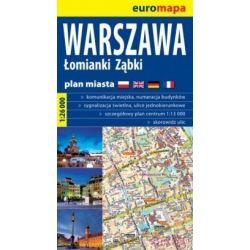 Warszawa, Łomianki, Ząbki 1:26 000