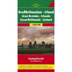 Wielka Brytania Irlandia mapa 1:900 000 Freytag & Berndt